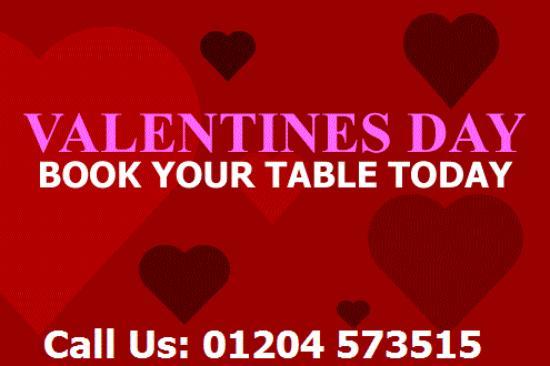 Bolton, UK: Valentines Day