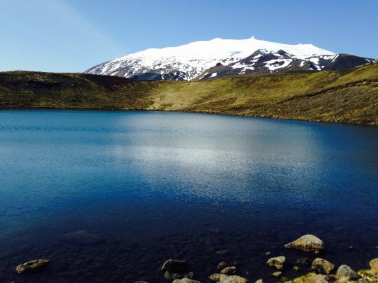 Snaefellsbaer, Island: Snæfellsjökull glacier nationa park