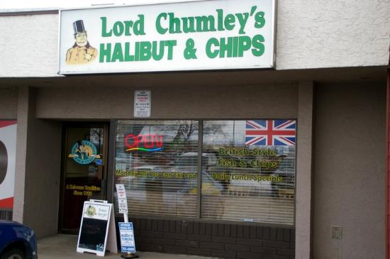 Lord Chumley's Fish & Chips: Welcoming store front
