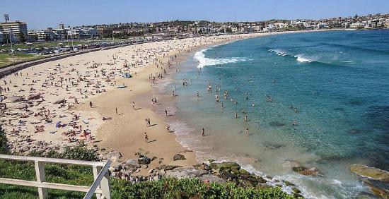Balgowlah, Αυστραλία: Bondi Beach Sydney, photo by Mike Keenan