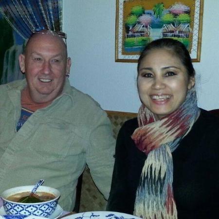 Gutersloh, Alemania: Mit meine Frau bei Little Bangkok