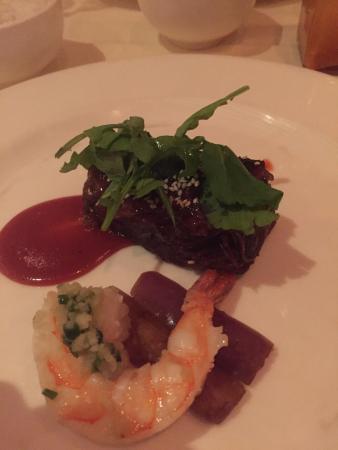 Alan Wong's Restaurant: Steak and lobster