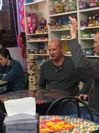 Palm Harbor, FL: Fun Jenga night..!! #jenga #clearwaterbeach #crystalbeach