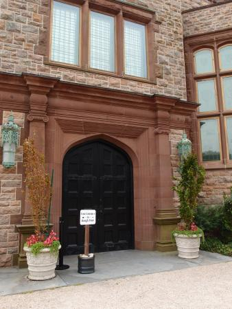 Rough Point: House Tours begin at the imposing front door