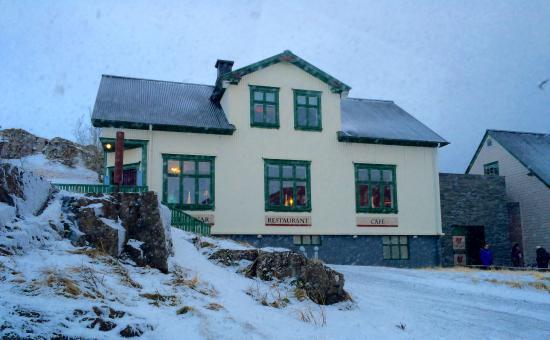 บอร์การ์เนส, ไอซ์แลนด์: The outside of the Settlement house