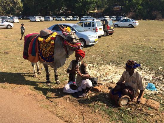 Anjuna, الهند: Anjuna Market