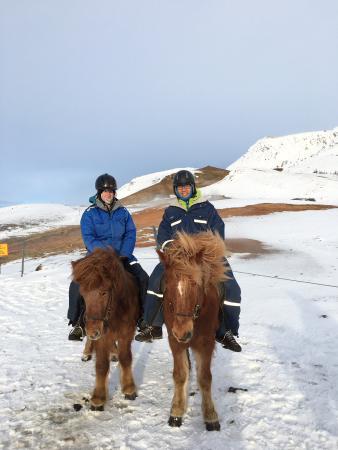 Hveragerdi, Islandia: At the springs