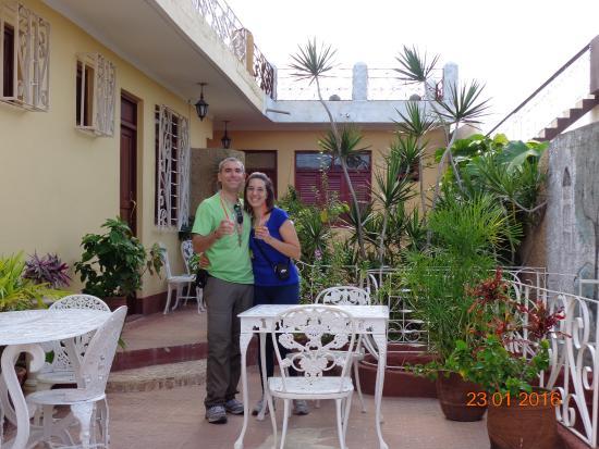 Il terrazzo ed il succo di benvenuto - Picture of Casa Particular ...