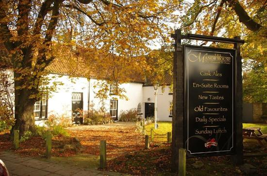 County Durham, UK: The Manor House Hotel