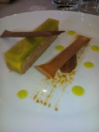 La Ferriere Aux Etangs, Francia: Foie gras à la liqueur de pomme a cidre