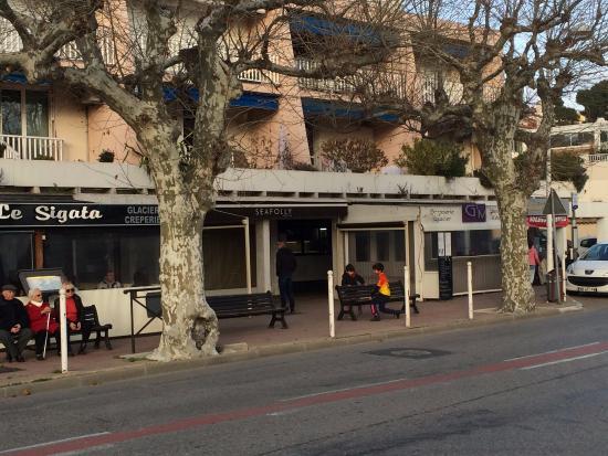 Carry-le-Rouet, Francia: Vue extérieure du restaurant
