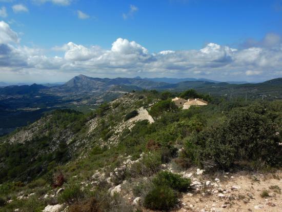 Jijona, Spanien: Emplazamiento del hotel