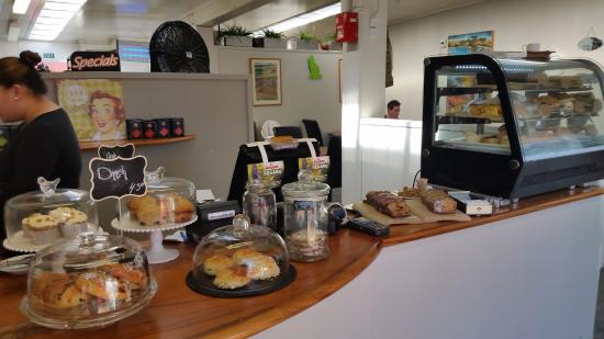 Counter of of Taste Cafe & catering Avondale, Auckland.