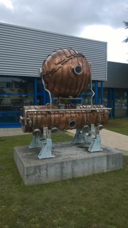 """Экспозиция """"Вселенная частиц"""", Европейский центр ядерных исследований (ЦЕРН): Steam punk?"""