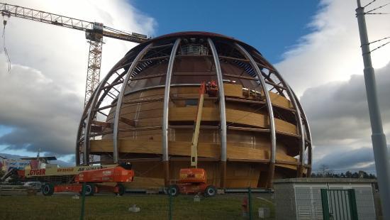 """Экспозиция """"Вселенная частиц"""", Европейский центр ядерных исследований (ЦЕРН): The future!"""