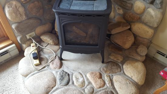 The West Condominiums : Jury-Rigged Fireplace