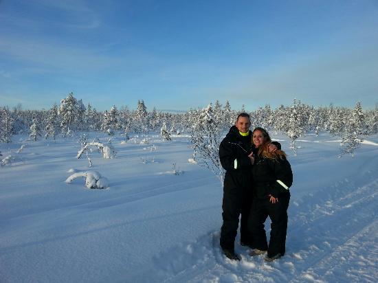 Santa Claus Holiday Village: Le paradis blanc