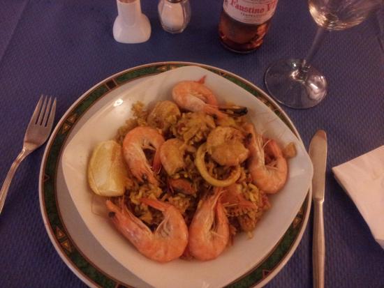 Reinosa, İspanya: Una deliciosa paella