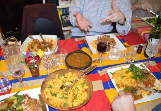 Royal Tunbridge Wells, UK: Food, glorious food
