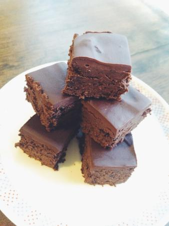 Chatham, Canada: Black Bean Avocado Chia Brownies