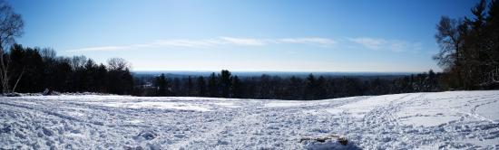 Andover, MA: Panoramic view from on top of Holt Hill