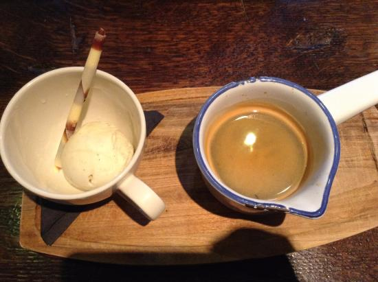 Sutton Cheney, UK: Affogato