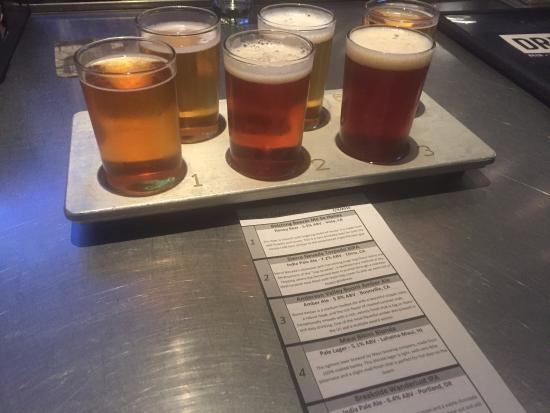 Yard House: Beer Flight