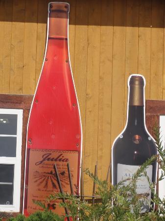 Bonaventure, Canadá: St Siméon, QC, Canada - Vin de fraise