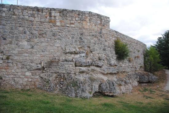 Muros Exteriores Del Castillo Picture Of Castillo De Burgos - Muros-exteriores