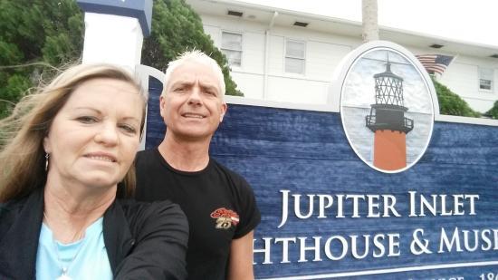 Jupiter, FL: Windy Day @ the Lighthouse