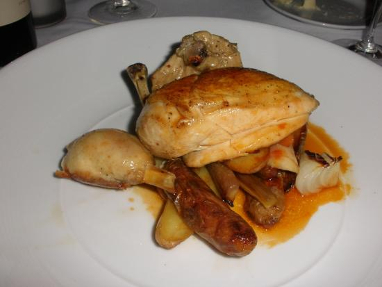 main course 1 2 roasted chicken picture of the signature room at rh tripadvisor com