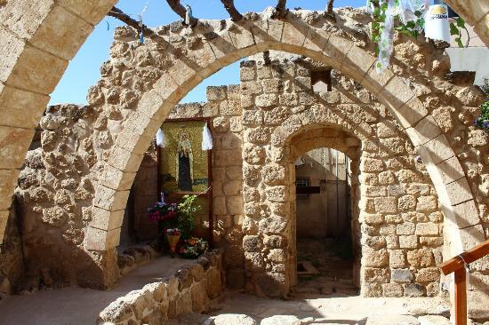Tripadvisor - Saint Mariam Baouardy house - תמונה של חצר דאוד, אעבלין