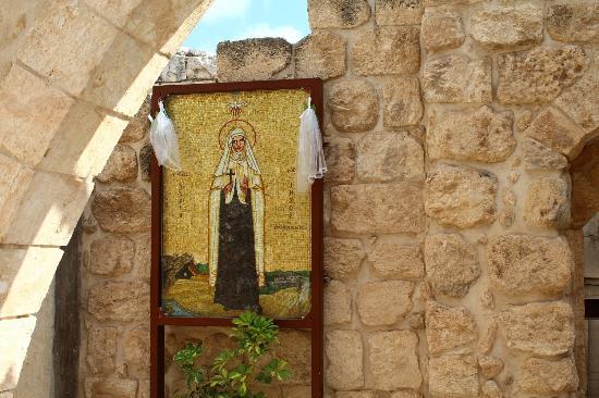 I'billin, Israel: Saint Mariam Baouardy icon