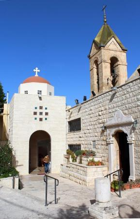 I'billin, Israel: The Greek Orthodox church in Ibillin