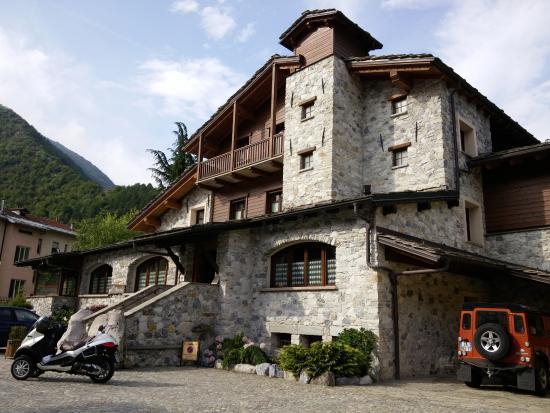 Vernante, Itália: Hotelansicht