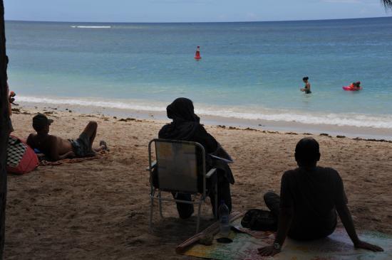 Φλικ Αν Φλακ: Flic en Flac Beach