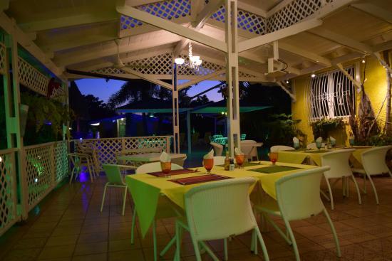 Пунта-Чаме, Панама: Dining area