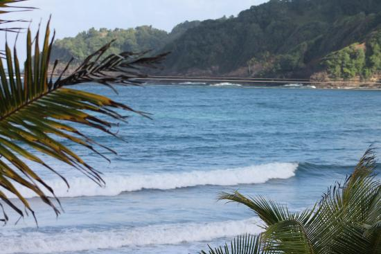 Маригот, Доминика: View over lunch