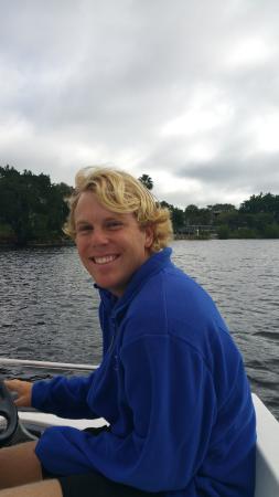 Port Saint Lucie, FL: Carson from Sailing crew