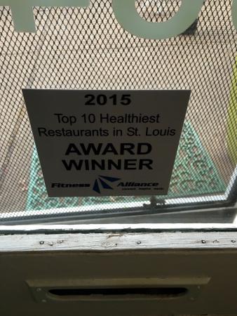 Clayton, MO: Healthy food award