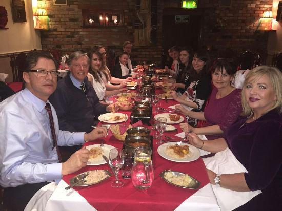 Trim, Irlanda: Wedding crowd in our restaurant
