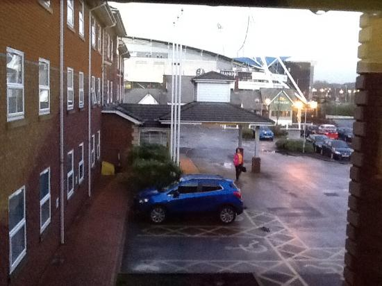 Premier Inn Bolton (Stadium/Arena) Hotel: View of Macron Stadium from hotel
