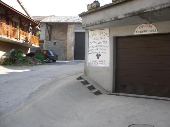 Ain, فرنسا: Le caveau
