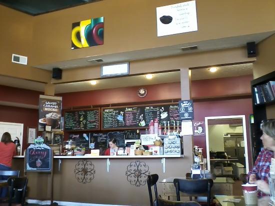 Cedarville, Ohio: Coffee bar area