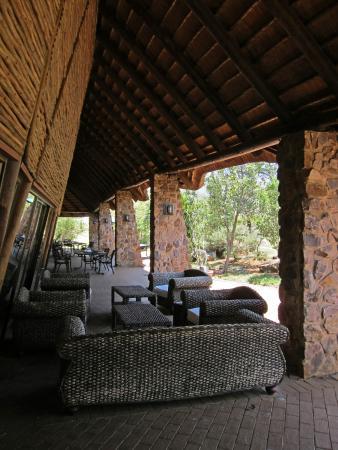 Winterton, Zuid-Afrika: Außenbereich am Haupthaus