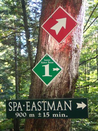 Eastman, Canadá: les sentiers de randonnée