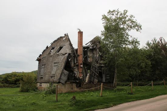 Chambord, Canadá: Maison écroulée