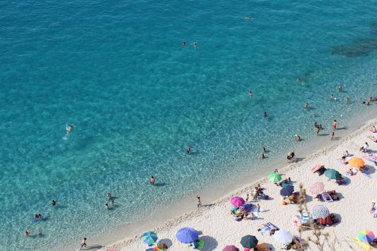 Tropea: Spiaggia