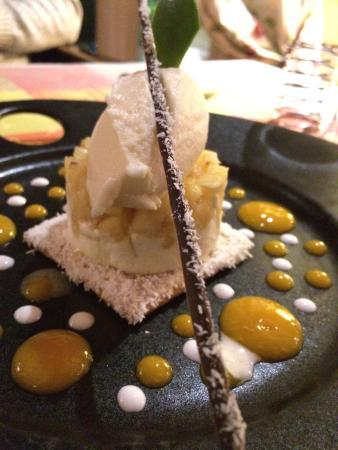 Le Buisson-de-Cadouin, ฝรั่งเศส: Et le second dessert pour la gourmandise 😆