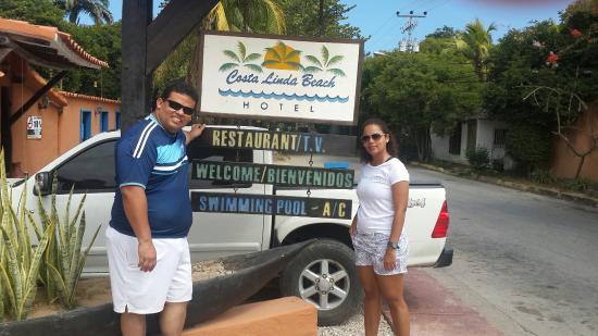 Costa Linda Beach: Acogedor y pintoresco hotel tipo posada ideal para relajarse.